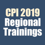 CPI 2019 Regional Trainings