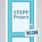 STEPP Project front door with Welcome sign